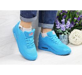 Купить Женские кроссовки Nike Air Max 90 Hyperfuse голубые в Украине