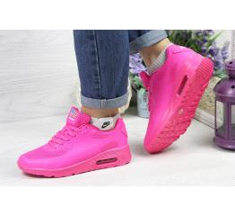 Купить Женские кроссовки Nike Air Max 90 Hyperfuse темно-розовые