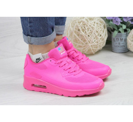 Купить Женские кроссовки Nike Air Max 90 Hyperfuse темно-розовые в Украине