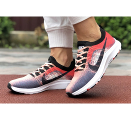 Купить Женские кроссовки Nike Air Zoom красные с серым в Украине