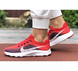 Купить Женские кроссовки Nike Air Zoom красные с темно-синим