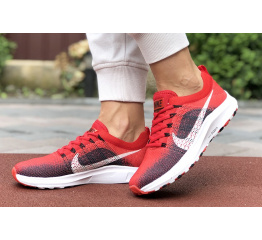 Купить Женские кроссовки Nike Air Zoom красные с темно-синим в Украине