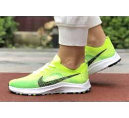Купить Женские кроссовки Nike Air Zoom неоново-зеленые