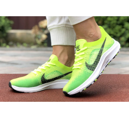 Купить Женские кроссовки Nike Air Zoom неоново-зеленые в Украине