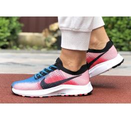 Купить Женские кроссовки Nike Air Zoom розовые с синим