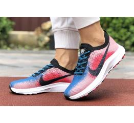 Купить Женские кроссовки Nike Air Zoom розовые с синим в Украине