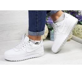 Купить Женские кроссовки Nike Lunar Force LF-1 low белые (white)