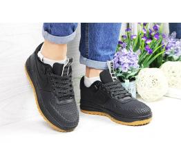 Купить Женские кроссовки Nike Lunar Force LF-1 low черные (black) в Украине
