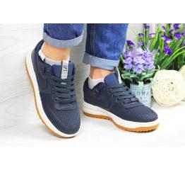 Купить Жіночі кросівки Nike Lunar Force LF-1 low темно-сині (dark-blue) в Украине
