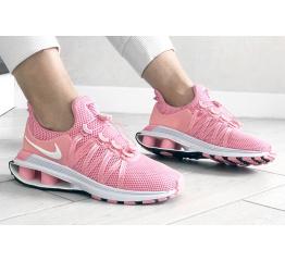 Купить Женские кроссовки Nike Shox Gravity розовые в Украине