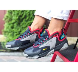 Купить Женские кроссовки Nike Zoom 2K темно-синие с серым