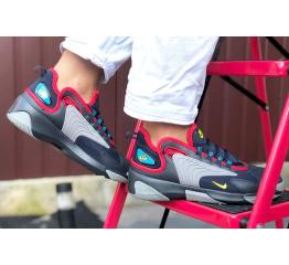 Купить Женские кроссовки Nike Zoom 2K темно-синие с серым в Украине