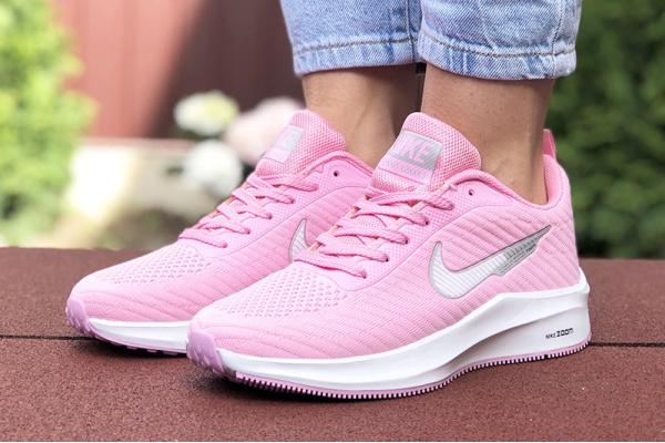 Женские кроссовки Nike Zoom Lunar 3 розовые