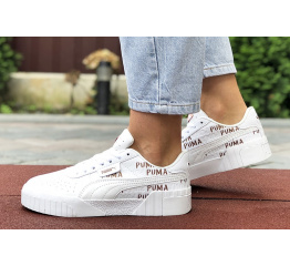 Женские кроссовки Puma Cali Remix Wn's белые