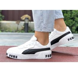 Купить Женские кроссовки Puma Cali Remix Wn's белые с черным