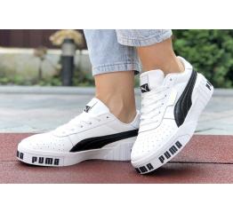 Женские кроссовки Puma Cali Remix Wn's белые с черным