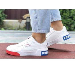 Купить Женские кроссовки Puma Cali Remix Wn's белые с красным