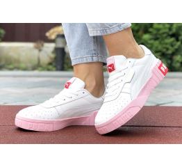 Купить Женские кроссовки Puma Cali Remix Wn's белые с розовым в Украине