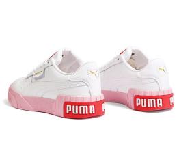 Купить Жіночі кросівки Puma Cali Remix Wn's білі з рожевим в Украине