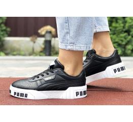 Женские кроссовки Puma Cali Remix Wn's черные с белым