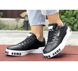 Купить Женские кроссовки Puma Cali Remix Wn's черные с белым в Украине