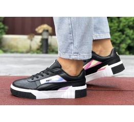 Женские кроссовки Puma Cali Remix Wn's Iridescent черные