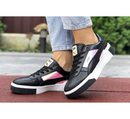 Купить Женские кроссовки Puma Cali Remix Wn's Iridescent черные в Украине