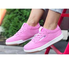 Купить Женские кроссовки Reebok C85 розовые