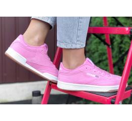 Купить Жіночі кросівки Reebok C85 рожеві в Украине