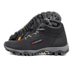 Купить Чоловічі черевики зимові Columbia чорні