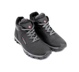 Купить Чоловічі черевики зимові Columbia чорні в Украине