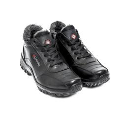 Купить Мужские ботинки на меху Columbia черные в Украине