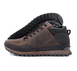 Купить Чоловічі черевики зимові New Balance коричневі