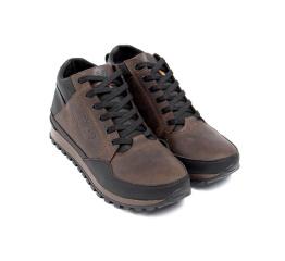 Купить Чоловічі черевики зимові New Balance коричневі в Украине