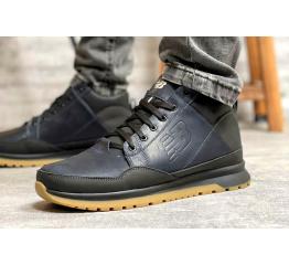 Купить Чоловічі черевики зимові New Balance темно-сині