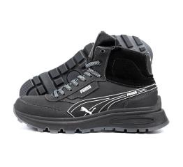 Купить Чоловічі черевики зимові Puma чорні
