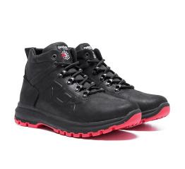 Купить Мужские ботинки на меху Reebok черные в Украине