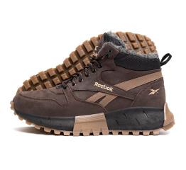 Купить Чоловічі черевики зимові Reebok коричневі