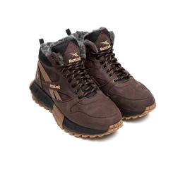 Купить Чоловічі черевики зимові Reebok коричневі в Украине