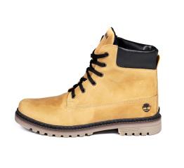 Купить Чоловічі черевики зимові Timberland світло-коричневі