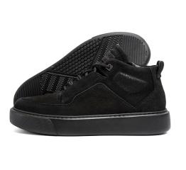 Купить Чоловічі черевики зимові ZG Black Exclusive чорні
