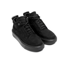 Купить Чоловічі черевики зимові ZG Black Exclusive чорні в Украине
