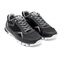 Купить Чоловічі кросівки Adidas чорні з білим в Украине