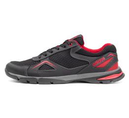 Купить Чоловічі кросівки Adidas чорні з червоним