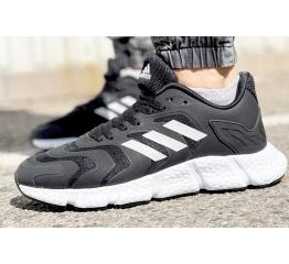 Купить Мужские кроссовки Adidas Climacool Vento черные с белым в Украине