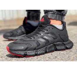 Купить Чоловічі кросівки Adidas Climacool Vento чорні з червоним