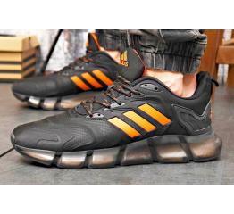Купить Мужские кроссовки Adidas Climacool Vento черные с оранжевым