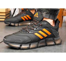 Купить Мужские кроссовки Adidas Climacool Vento черные с оранжевым в Украине