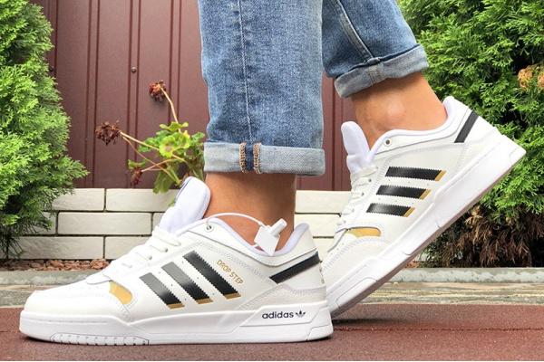 Мужские кроссовки Adidas Drop Step белые