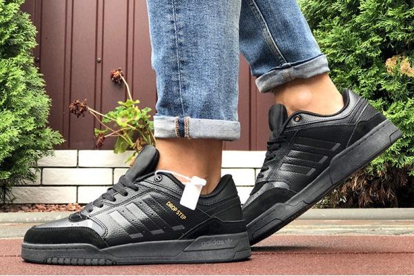 Мужские кроссовки Adidas Drop Step черные